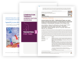 Published references and articles about TECENTRIQ.